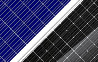 Моно- и поликристаллические солнечные панели