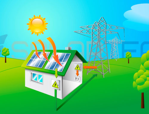 Солнечные сетевые электростанции для собственного потребления в частных домах