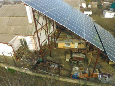 Солнечная станция в Кривом Роге. Фото №3