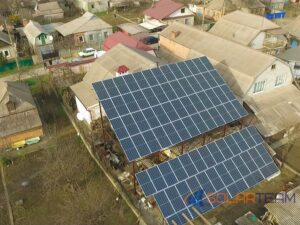 Наземная солнечная станция в Кривом Роге 30 квт