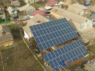 Наземная солнечная станция в Кривом Роге