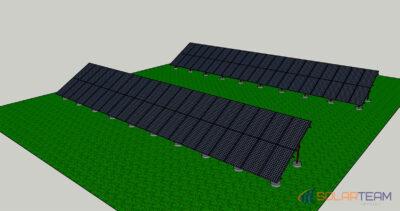 Проект солнечной электростанции в с. Лозоватка