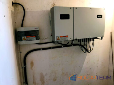 Инвертор для солнечной электростанции