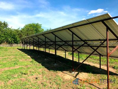 Солнечные панели в с. Лозоватка