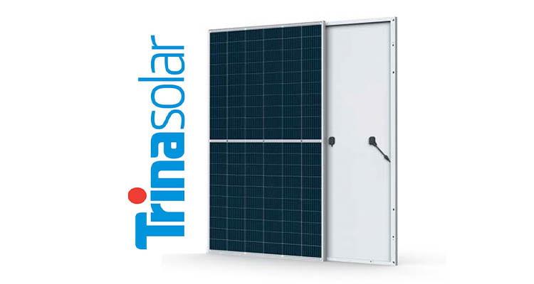 Солнечные батареи компании Trina Solar Co Ltd